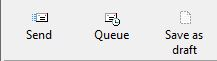 Queue Email button