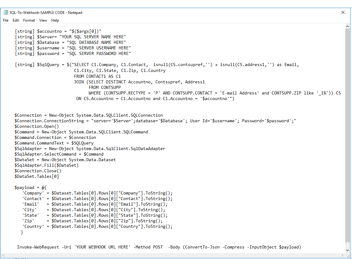 Creating an  Exe file from a Powershell script that sends